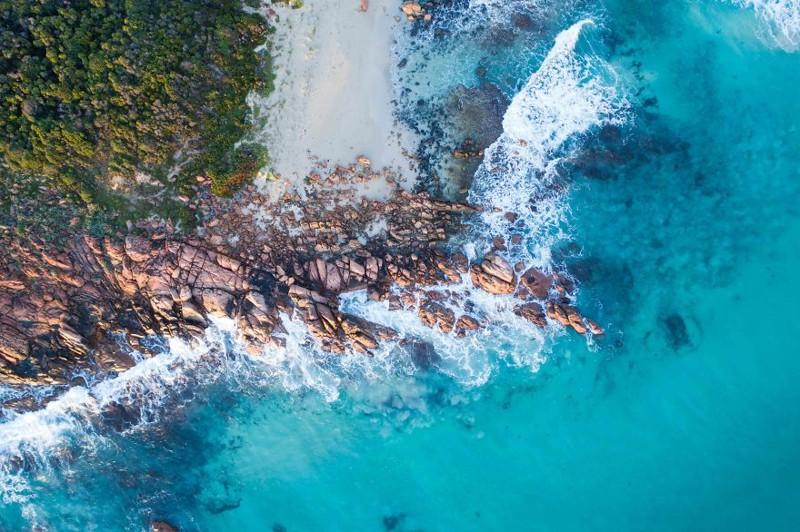 Кристальная чистота австралия, где зимой рай, зима, красота, мягкий климат, пейзажи, тепло, фото