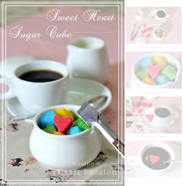 Сладкий Сахар Кубы сердца