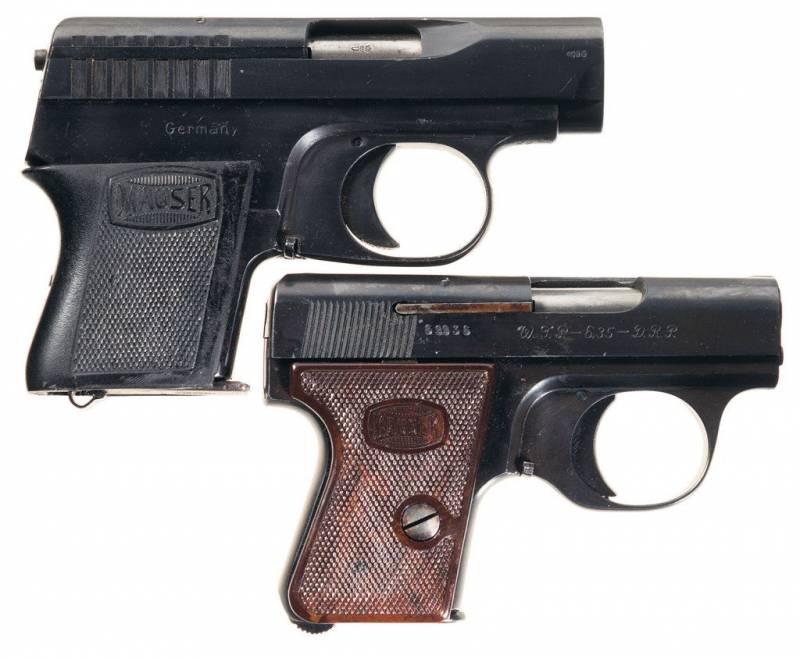 Пистолеты Маузер ВТП1 и Маузер ВТП2 калибра 6,35 мм и их основные различия (Mauser WTP I — Mauser WTP II)