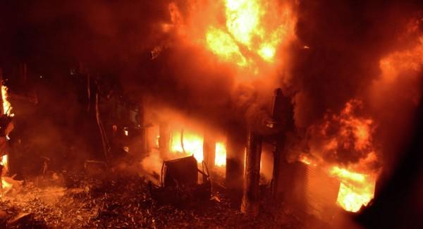 Один человек погиб на пожаре…
