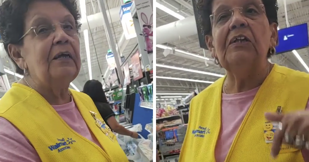 Walmart Employee Asks Customer To Speak English 'Because We're In Texas', So He Shares The Video Online