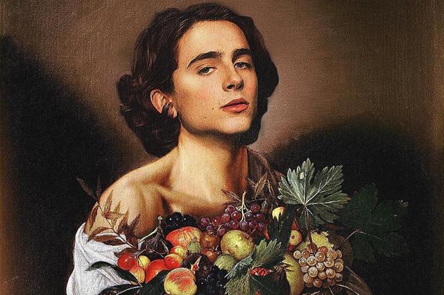 Настоящее искусство: Тимоти Шаламе на картинах великих классиков