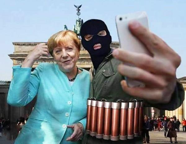 Меркель повернулась спиной к ЕС