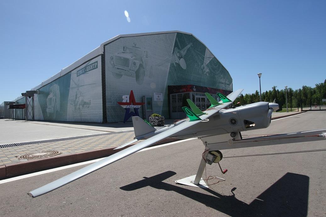 Российские беспилотные системы на выставке в Кубинке
