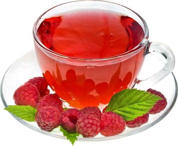 """Чай в стакане, в чашке, с земляникой, лимоном и малиной - фото на белом фоне и клипарт PNG """" Выпускные фотокниги, детские портре"""
