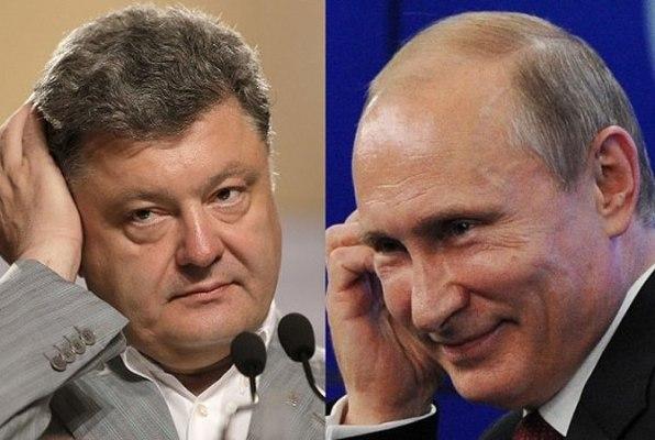 СМИ узнали опереговорах Путина иПорошенко: вынуждены были шутить