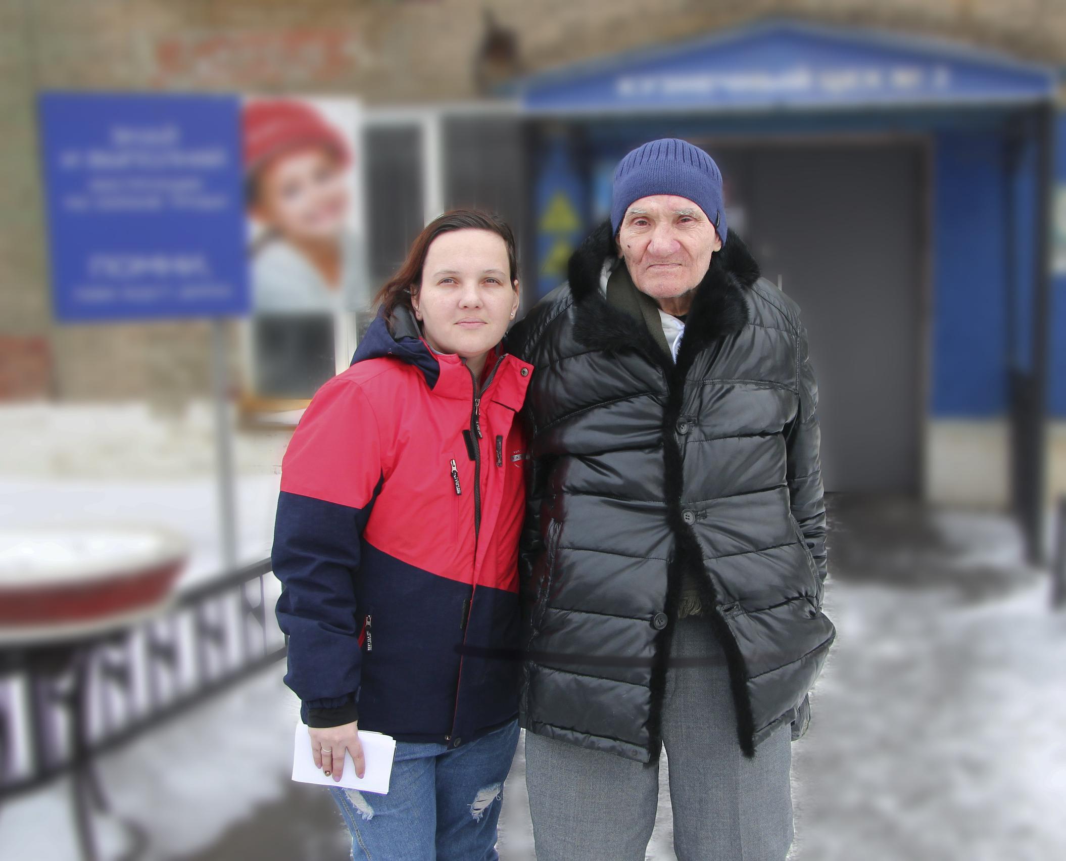 Гордость России: Валентина Гулицина из Челябинска приютила бездомного и оставила его в семье в качестве родного дедушки