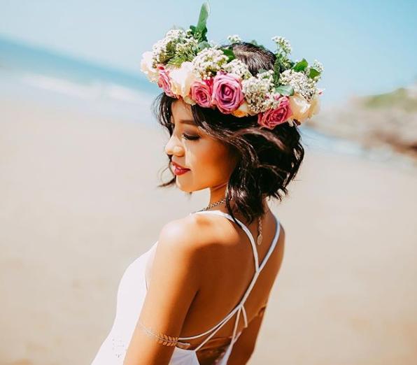 Свадебные прически на очень короткие волосы