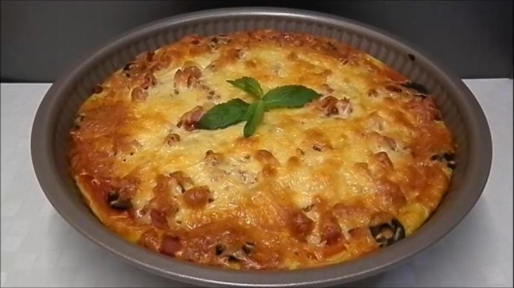 Пицца из кабачков. Легкая и вкусная