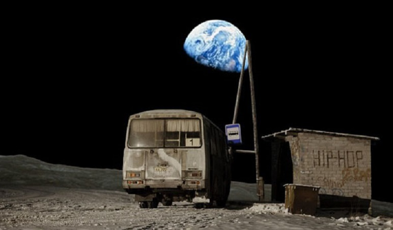 Реальные метеориты на голливудской Луне NASA