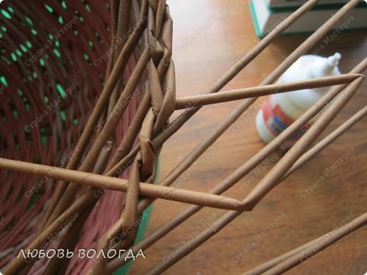Плетение из газет. Овальные и круглые ХЛЕБНИЦЫ с крышками. Мастер-классы (34) (520x390, 179Kb)