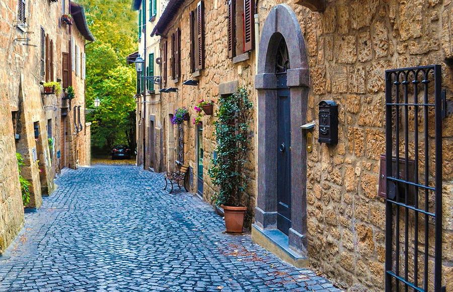 Волшебный город Орвието. Умбрия,Италия.