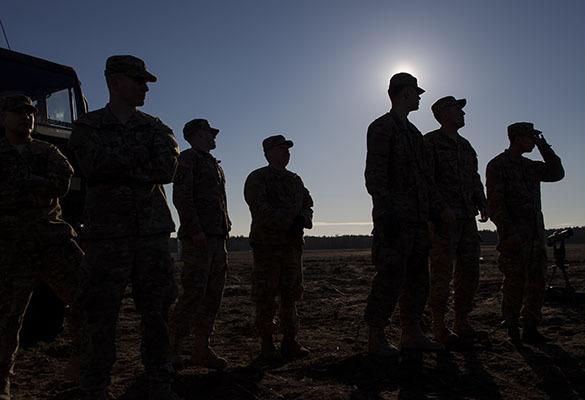 Пьяные солдаты НАТО забили друг друга в Прибалтике