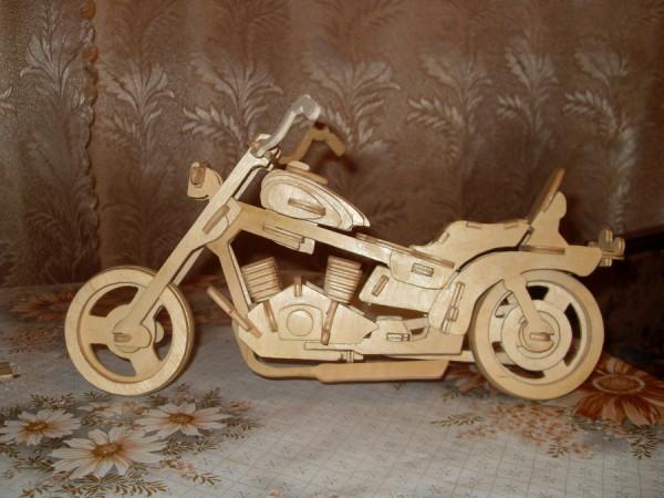 Мотоцикл из фанеры своими руками 98