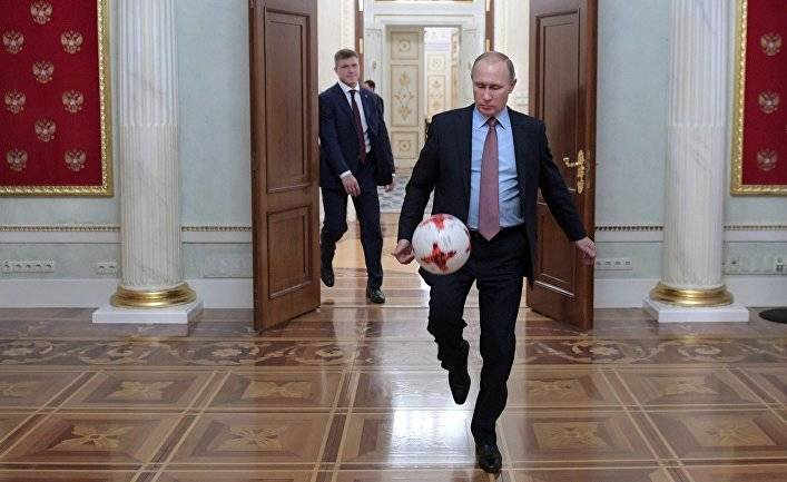 Забудьте про футбол, настоящий победитель ЧМ — Владимир Путин