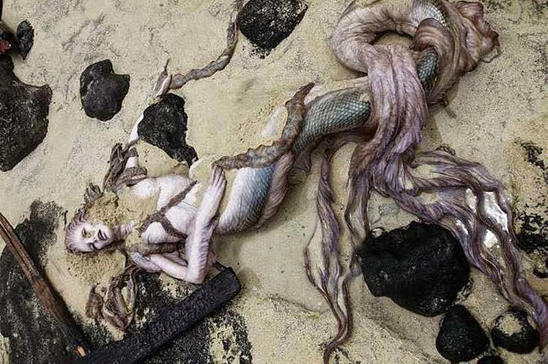Гавайская русалка вирусные фотографии, обман, фото, фотошоп