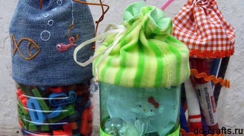 Как сделать сумочку из пластиковых бутылок главная