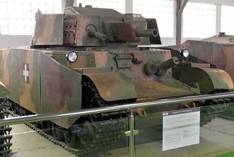 Венгерский танк Turan. Мадьярская попытка догнать советское танкостроение