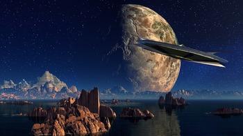 Уфологи: на спутнике Юпитера замечен разбившийся НЛО