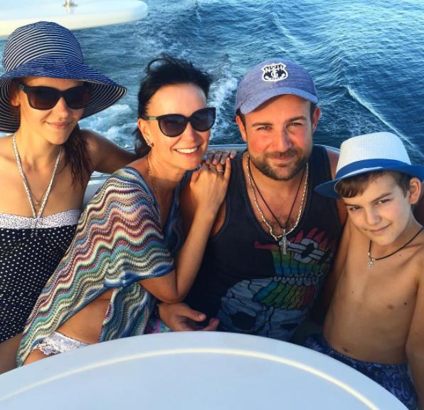 Фото Нонны Гришаевой: муж и дети