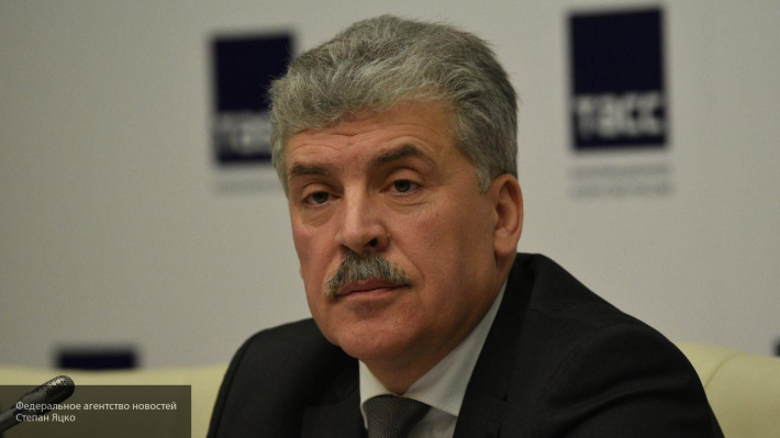 Коммунист Машковцев поделился мнением о критике Грудинина депутатом КПРФ