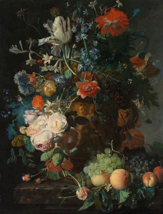 художник Ян ван Хёйсум (Jan Van Huysum) картины - 07