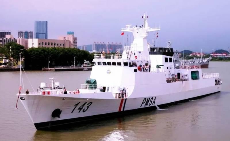 ВМС Пакистана получили корабль китайской постройки