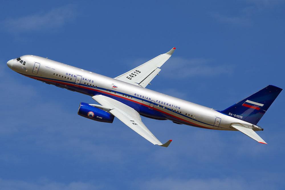 Новый самолет-наблюдатель Ту-214ОН допустили к полетам над США