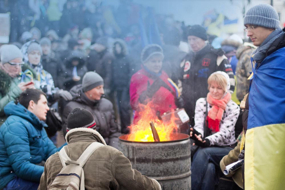 Киев без удобств. Кличко объ…