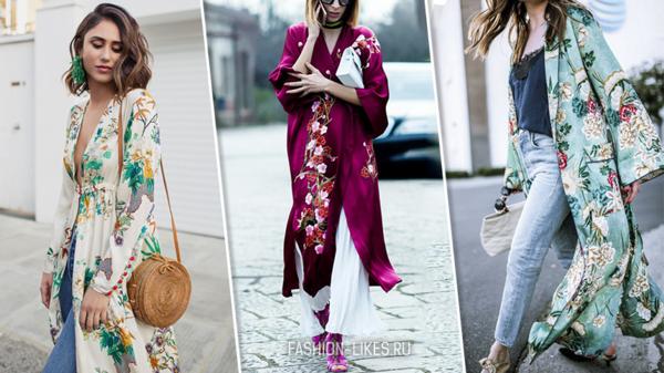 Кимоно — безумно женственно, элегантно и красиво
