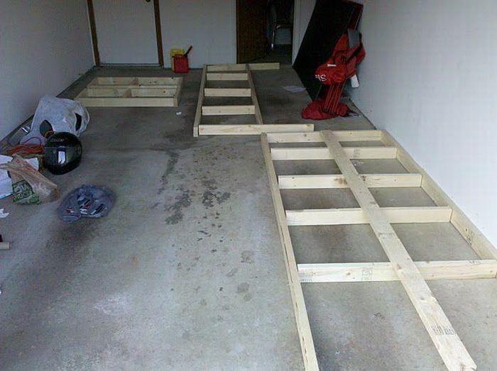 Как построить бар в подвале