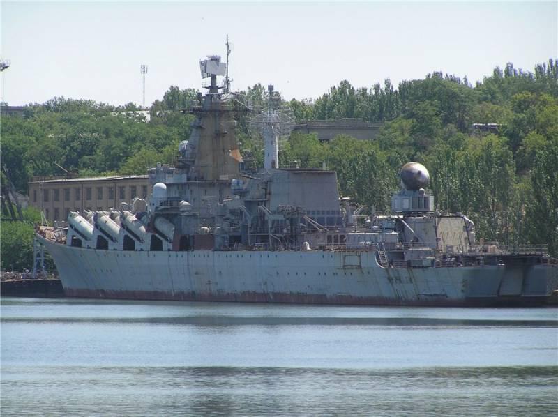 Крейсер «Украина» разорил крупное судостроительное предприятие