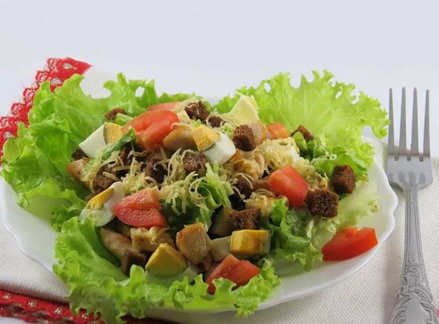 10 очень вкусных салатов