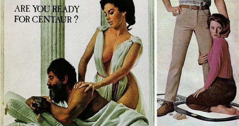 Женщина, знай свое место: сексистские рекламные плакаты середины XX века