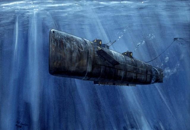 как затонула подводная лодка комсомолец видео