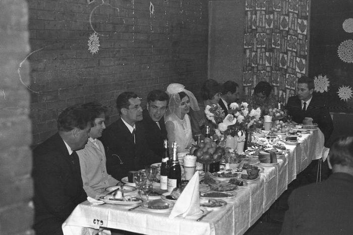 Свадебные традиции времён СССР