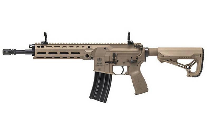 Израильская компания IWI представила новую штурмовую винтовку Arad