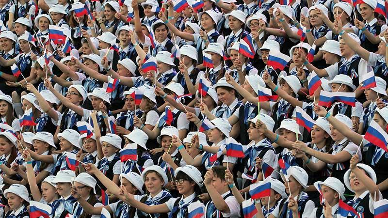 Россияне гордятся своей историей и армией