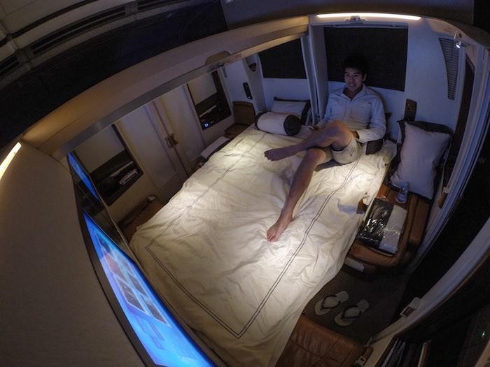 Каково это: Лететь из Сингапура в Нью-Йорк за 23000 долларов в классе Suite