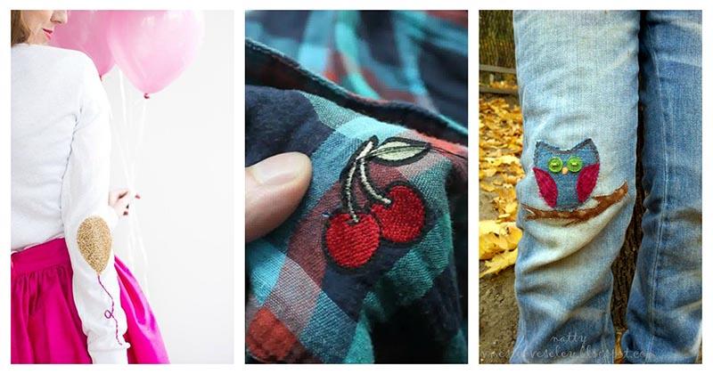 Дырка на одежде — повод креативных заплаток: 18 ярких идей