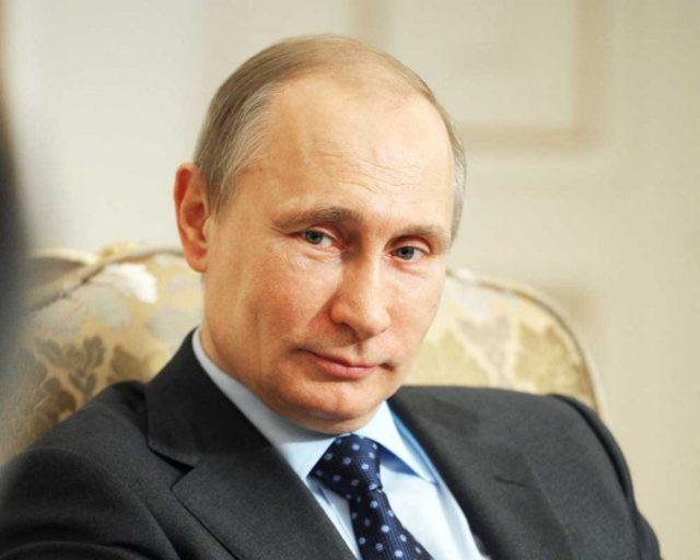 Впервые за Путина.