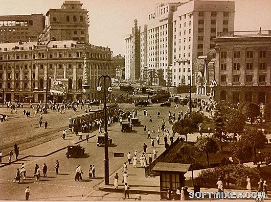 Москва субтропическая: как в 1936 году представляли будущий облик столицы