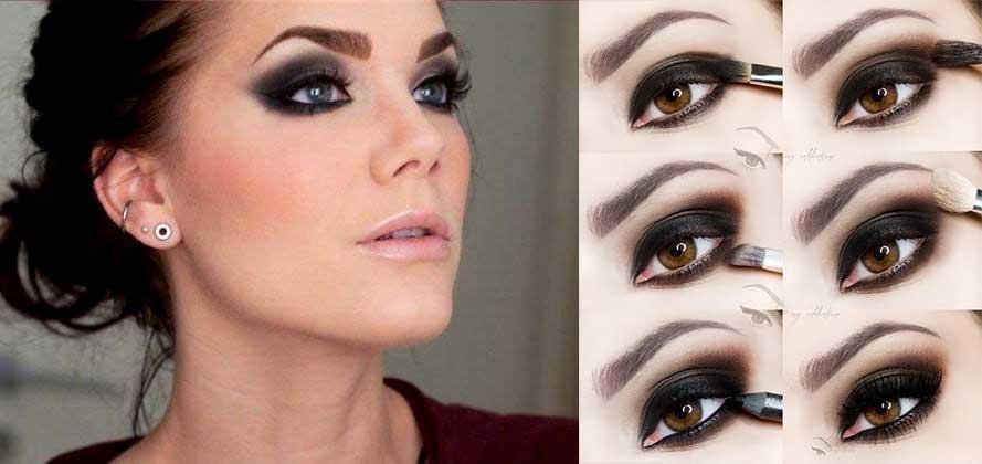 Как сделать красивый но простой макияж глаз