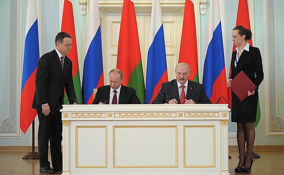 Россия и Беларусь: с чего на…