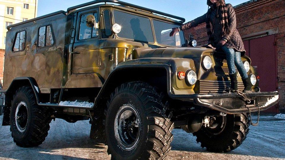 ГАЗ-66 «Матрена»: супервнедо…