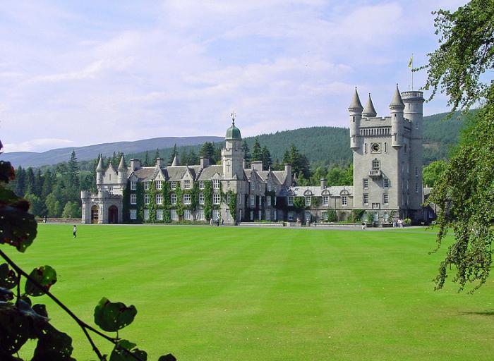 Замок Балморал, Соединенное Королевство.