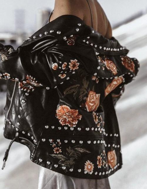 Будь в тренде — модные идеи украшения вышивкой одежды, обуви и аксессуаров
