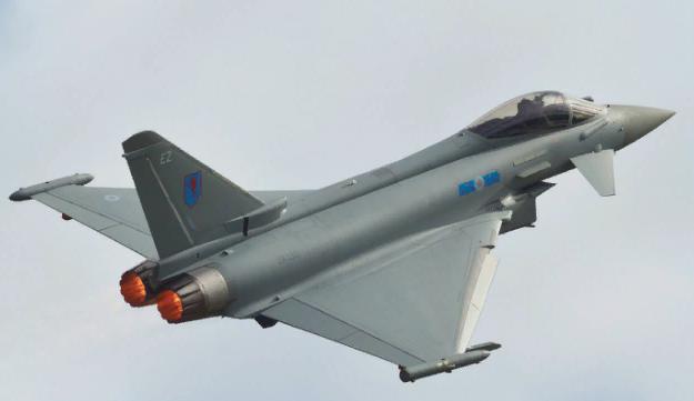 Истребители ВВС Великобритании обнаглели в небе над Черным морем