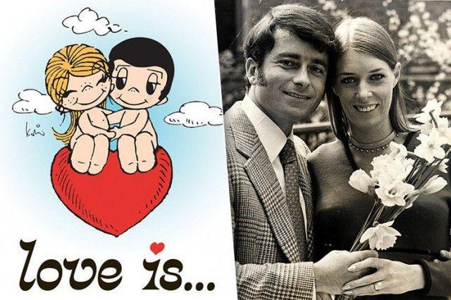 """История появления комиксов """"Love is..."""" и жизненный путь их создателей"""