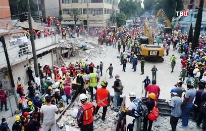 Число погибших при землетрясении в Мексике возросло до 230 человек
